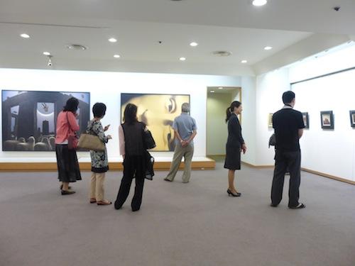 会場の展示風景、その2