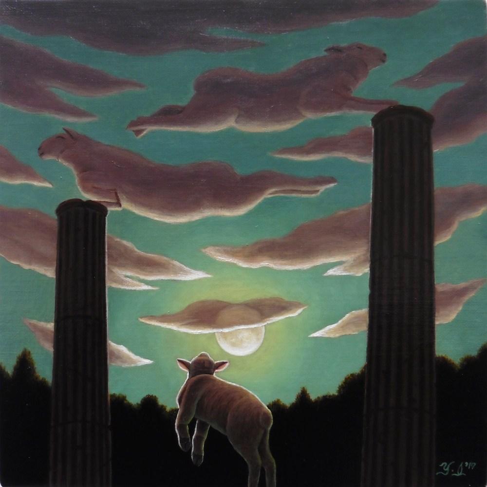 【個展】「泉谷淑夫・月と羊のファンタジー展」10/2〜@六本木