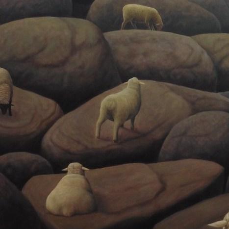 羊たちの「待つ」ものは。