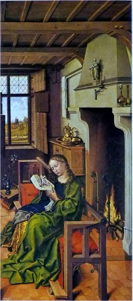 カンパン《聖バルバラ》1438年頃