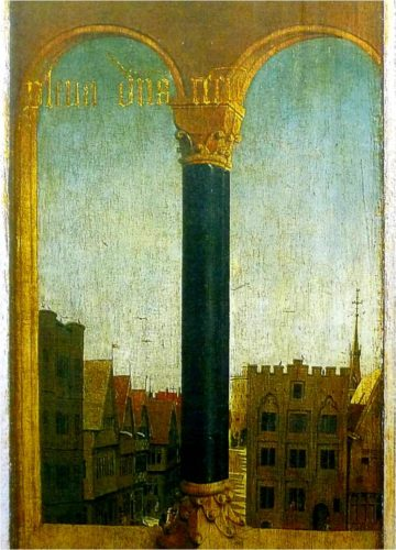 部分図❷《ゲントの祭壇画・外面》