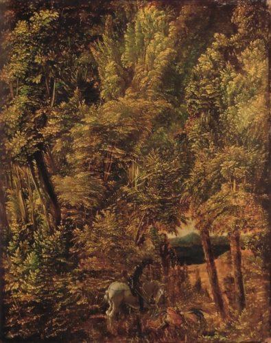 森の中の聖ゲオリギウス