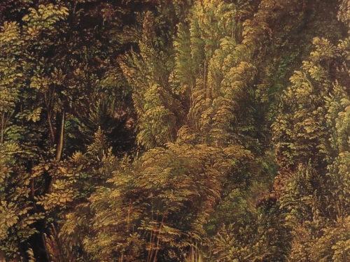森の中の聖ゲオリギウス・部分