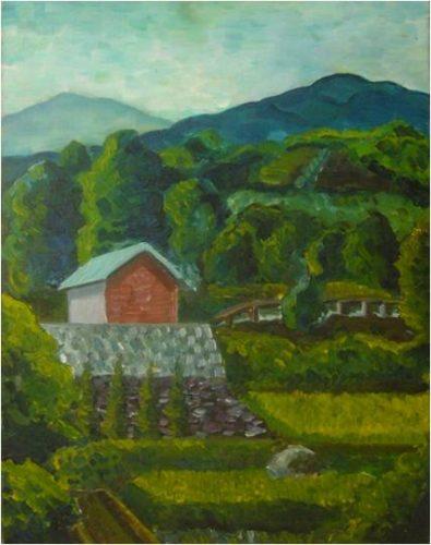 泉谷淑夫《風景》1967年
